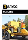 Model TRSJRW / TRSJRWB - Stump Cutter Trailers Brochure