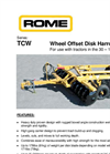 TCModel TCW Series - Wheel Offset Disk Harrow Brochure