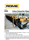Model RSR - Inline Subsoiler Ripper Brochure