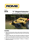 Model RVR - V Shaped Subsoiler Ripper Brochure