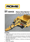Model RP - 180HDE - Heavy Duty Ejector Scraper Brochure