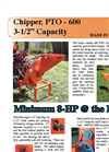 Model 600PTO - Chipper Brochure