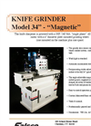 Model 34 - Magnetic Knife Grinder Brochure