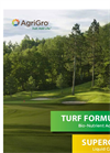 Turf Formula - Nutritional Supplement Brochure