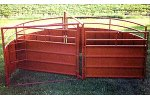 Cattle Crowding Tub