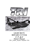 Light Duty Rotary Cutter- Brochure