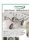 Spray Hound Walking Boom Sprayer Datasheet