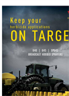 Model 642E - Three-Point Broadcast Hooded Sprayer - Brochure