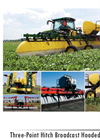 Model 642 - Three-Point Wheel Boom Broadcast Hooded Sprayer Brochure