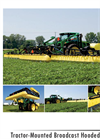 Model 645 - Tractor-Mounted Suspended Boom Broadcast Hooded Sprayer Brochure