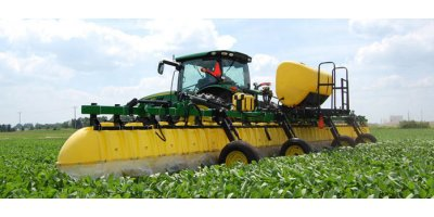 Model 642 - Three-Point Wheel Boom Broadcast Hooded Sprayer