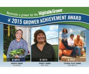 2015 Grower Achievement Award