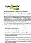 Model NRG-N - High Liquid Fertilizers Brochure