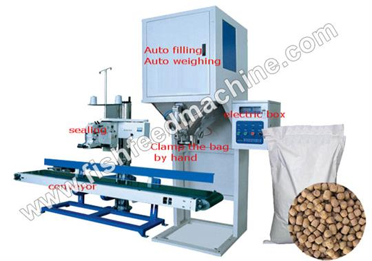 AMS - Model DCS - Fish Feed Packaging Machine