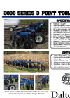 Dalton - Model D Series - 3-Point Anhydrous Ammonia Toolbars Brochure