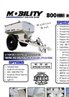 Model 600, 800 & 1000 - Mobility Row Crop Spreaders Brochure