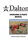 Model WN Series - Running Gears for Anhydrous Ammonia Tanks Manual