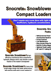 Snocrete - Self Contained Loader Mount Snow Blowers Datasheet