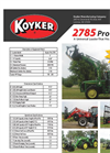 Koyker - Model 2785 PRO - Universal Loader - Brochure