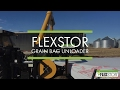 FlexStor Grain Bag Unloader - Video