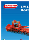 Maschio - Model L Series - Offset Rotary Tillers Brochure