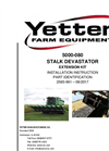 Devastator - Model 5000 - Stalk Roller Attachment - Brochure