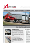 XL - - Mechanical Full-width Gooseneck - Heavy Haul Trailer Literature