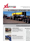 XL - Hydraulic Detachable Gooseneck - Heavy Haul Trailer - Brochure