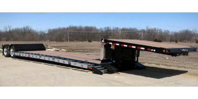 XL - Mechanical Full-width Gooseneck - Heavy Haul Trailer