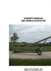 Model 800 Series - Reverse Rotation Conveyors  Manual