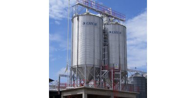 SCAFCO - Hopper Bottom Bins & Silos