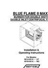 BLUEFLAME - Model II MAXX - Heaters Brochure