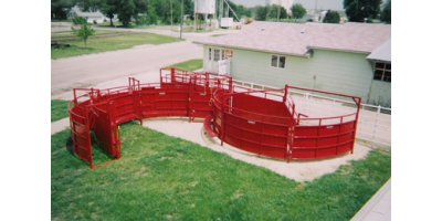 Circular Cattle Working Facility