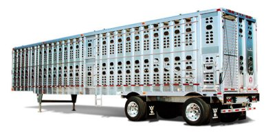 Stockmaster - Model PSAL/PSADL  Series - Straight Floor Semi Livestock Trailer
