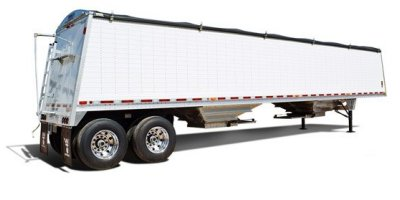 Commander - Model DWH-500C - Sloped Double Wall Aluminum Grain Trailer