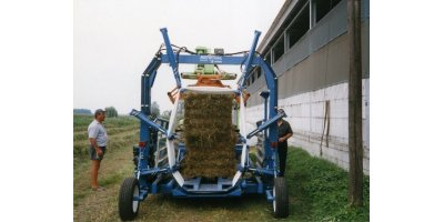 Roto Tube - Round Bales Machine