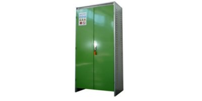Numak - Two Glazed Door for Plant Protection Product Storage