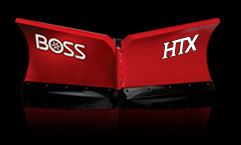 BOSS products - Model HTX - V-Plows