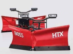 BOSS products - Model HTX - V-Plows and Straight Blades