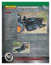 3-Point Brush Mower- Brochure