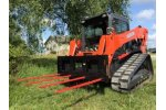 Skid Steer Loader Bale Spears