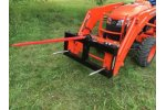 Tractor Loader Bale Spears