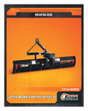 Bison - Model T/F/A SERIES - Rear Blades Brochure