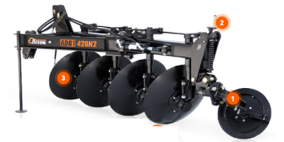 Bison - Model ADB1-328H2/428H2 SERIES - Disc Plows