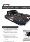Model RBV - Floating Deck Rotary Brush Cutter- Brochure