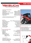 TS60V - Vertical Skid Steer Loader Brochure