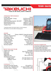 Takeuchi - TS50R - Skid Steer Loaders Brochure