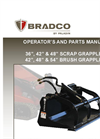 Bradco - Model 3511B - Dual Cylinder Swing Backhoe System Brochure