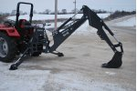 Bradco - Model 3511B  - Dual Cylinder Swing Backhoe System