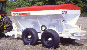 Model Moonwalk 260 - Spreaders